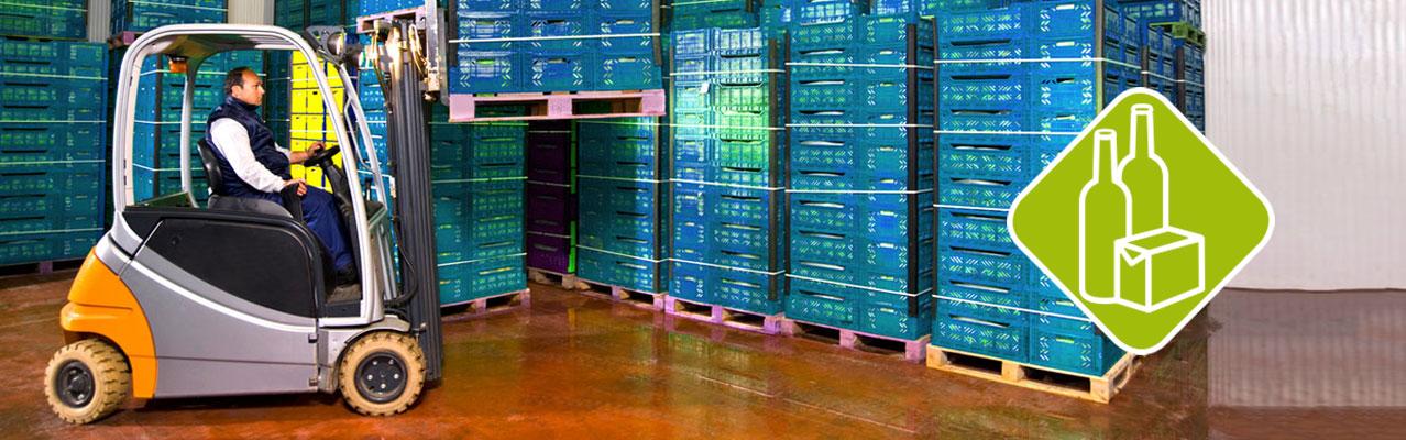 Getränke- und Lebensmittelindustrie Header