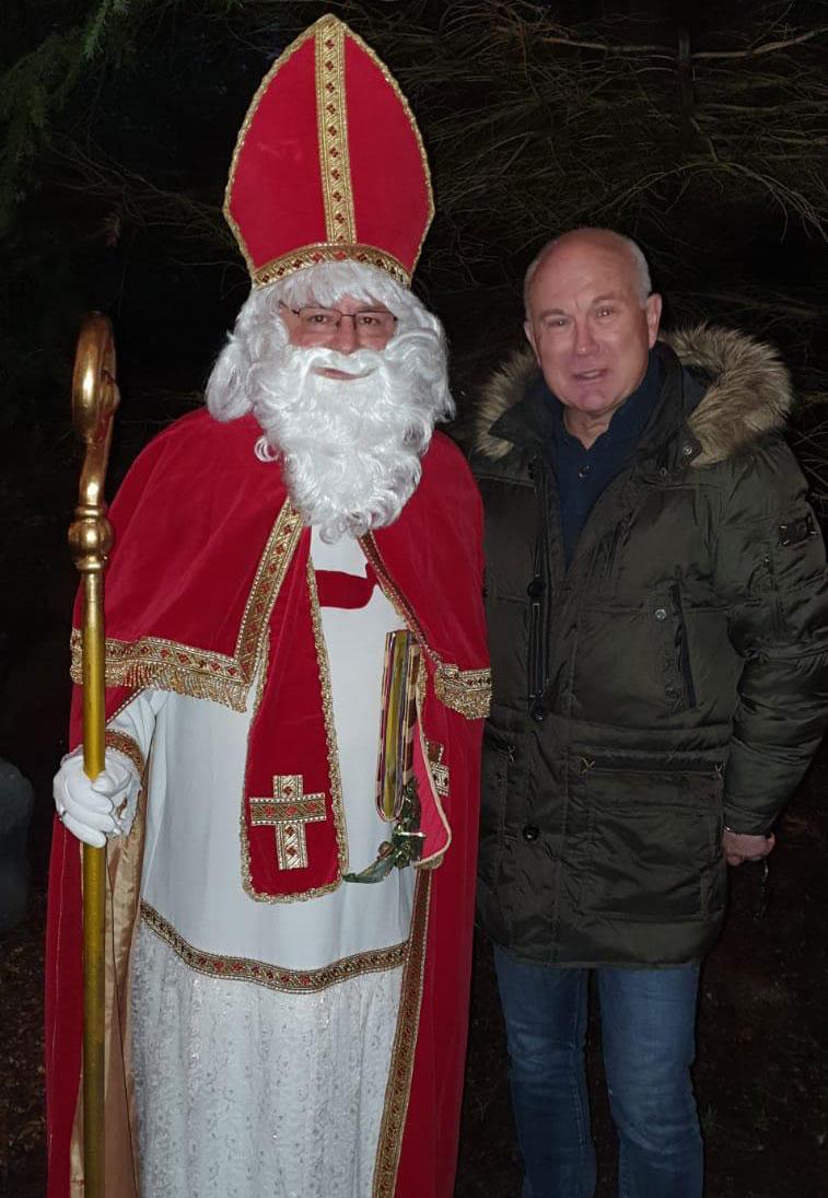 Herr Jürgen Beutner und der Weihnachtsmann